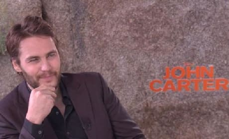 Taylor Kitsch Exclusive Video: Interviewing John Carter