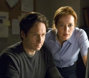 Mulder and Scully Photo