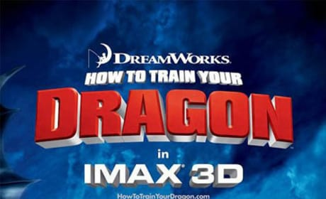 New Photos Show How to Train Your Dragon!