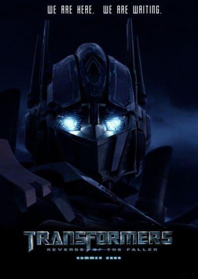 New Transformers: Revenge of the Fallen Poster