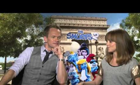 The Smurfs 2: Neil Patrick Harris & Jayma Mays Create Their Own Smurf