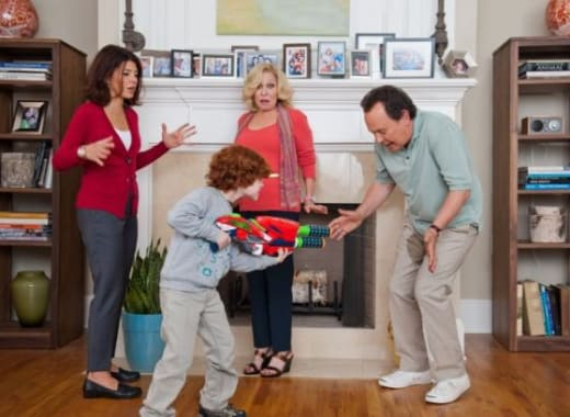 Billy Crystal Marisa Tomei Bette Midler Parental Guidance