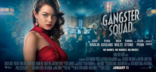 Emma Stone Gangster Squad Poster