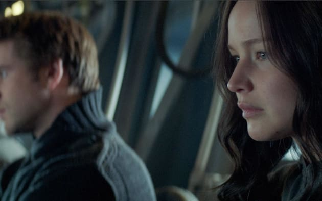 Mockingjay Part 1 Liam Hemsworth Jennifer Lawrence