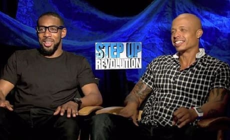 Step Up Revolution Exclusive: tWitch & Jamal Sims Dish Dancing