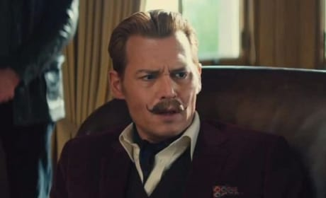 Johnny Depp Is Mortdecai