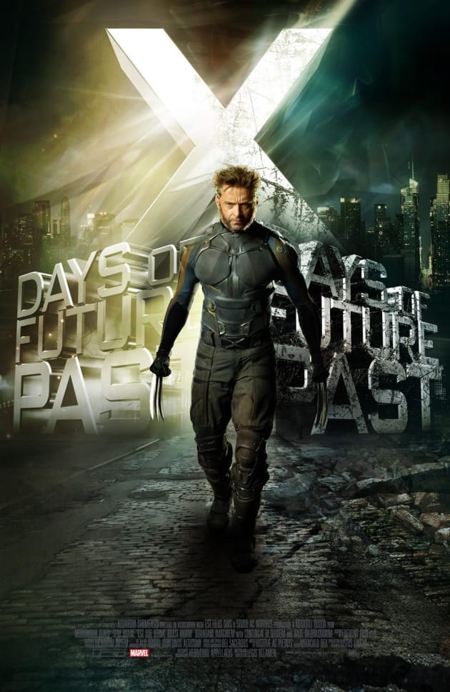 Wolverine X-Men: Days of Future Past Poster