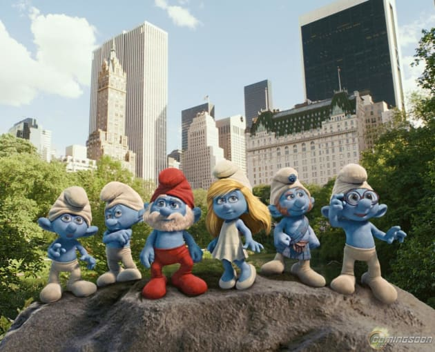 Smurfs Take Manhattan