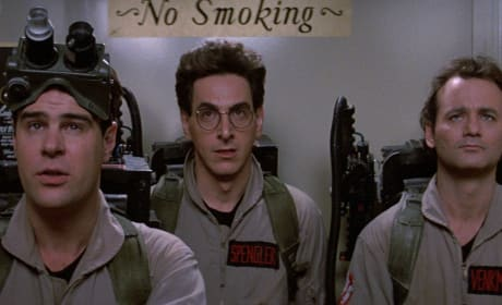 Ghostbusters Dan Aykroyd Bill Murray Harold Ramis