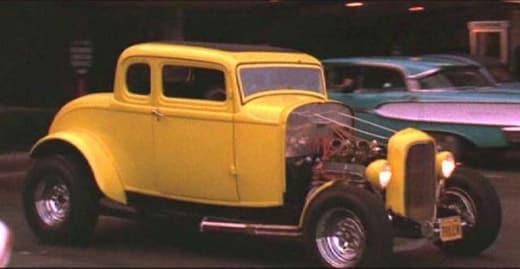 American Graffiti 1932 Ford Couple