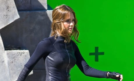 Jessica Alba Spy Kids Set 7
