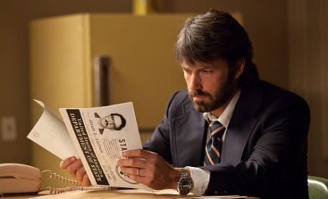 Ben Affleck's Beard Star of New Argo Still