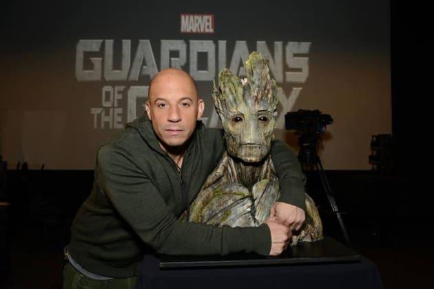 Guardians of the Galaxy Vin Diesel Groot