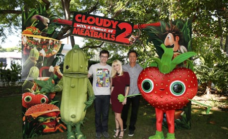 Cloudy with a Chance of Meatballs 2 Anna Faris Benjamin Bratt Bill Hader