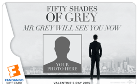 Fifty Shades of Grey Fandango Add Your Photo Gift Card