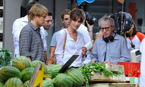 Woody Allen Directing Midnight in Paris