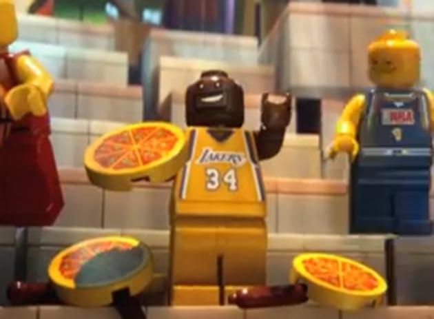The LEGO Movie Shaq