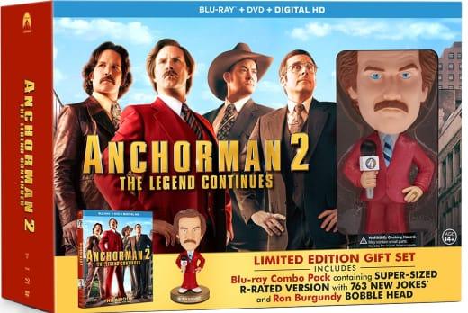 Anchorman 2 Bobble Head DVD