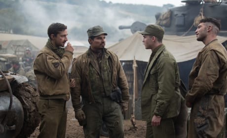 "Fury Exclusive: Michael Pena on ""Inspiring"" & Paying Respect To Latinos"