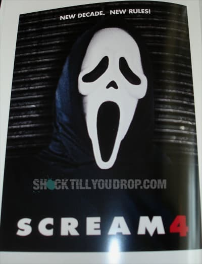 Scream 4 Official Teaser Poster