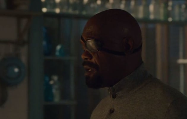 Nick Fury's Rallying Speech