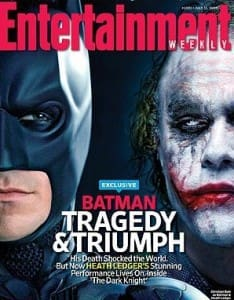 The Dark Knight, Heath Ledger Profiled in Magazine