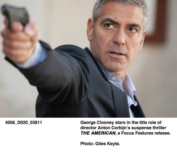 George Clooney is Deadly Handsome in The American Photos ...