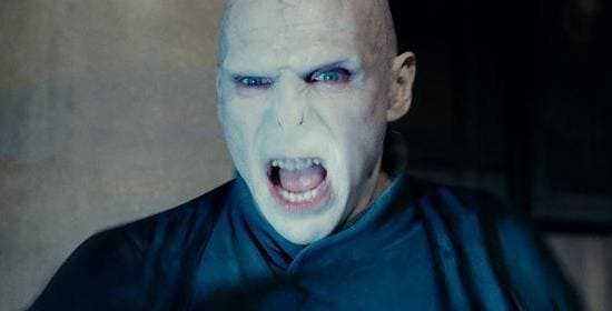 Ralph Finnes in Harry Potter and the Deathly Hallows Part 2