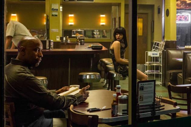 Denzel Washington Chloe Grace Moretz The Equalizer