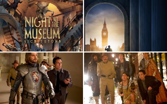 Night at the musem secret of the tomb poster