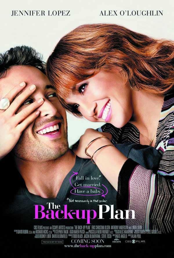 The Back-up Plan Poster