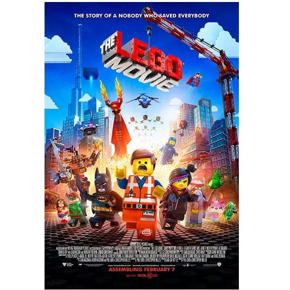 The LEGO Movie Prize Poster