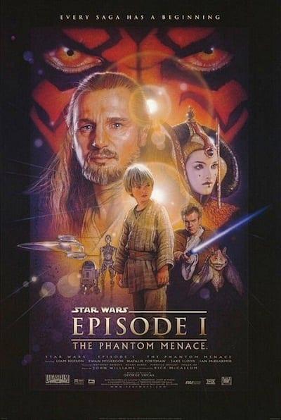 Star Wars Episode 1: The Phantom Menace Original Poster