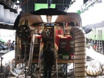 The Wolverine Bullet Train Set Pic