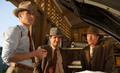 Ryan Gosling Michael Pena Gangster Squad