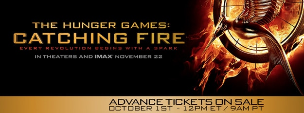 Catching Fire On Sale Banner