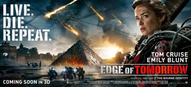 Edge of Tomorrow Emily Blunt Banner