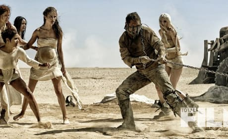 Mad Max Fury Road: First Look at Tom Hardy & Charlize Theron