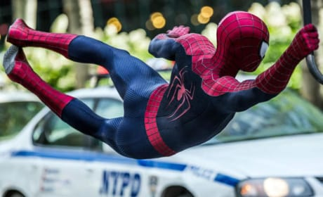 The Amazing Spider-Man 2 Photos: Spidey Gets Electric