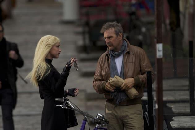 3 Days to Kill Amber Heard Kevin Costner
