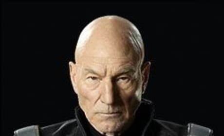X-Men Days of Future Past Star Patrick Stewart