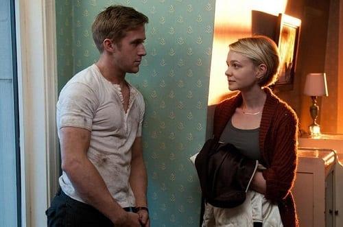 Ryan Gosling and Carey Mulligan in Drive