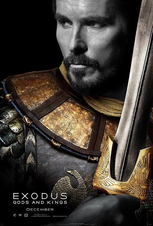 Exodus: Gods and Kings Christian Bale Poster