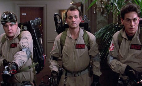 Ghostbusters Bill Murray Harold Ramis and Dan Aykroyd
