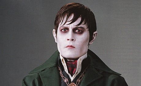 Johnny Depp in Dark Shadows: Barnabas Posing