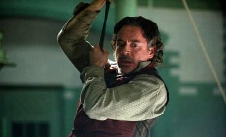 Robert Downey Jr. Stars in Sherlock Holmes A Game of Shadows