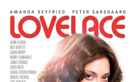 First Lovelace Poster Drops: Writer Gets Distracted