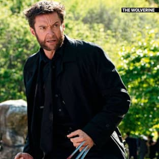The Wolverine Hugh Jackman Magazine Still
