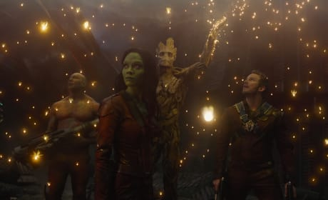 Guardans of the Galaxy Groot Gamora Star Lord