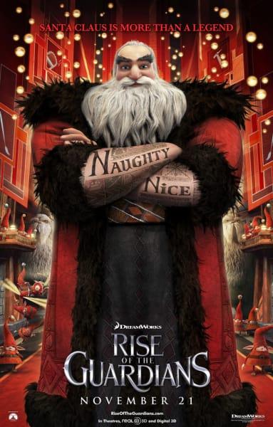 Santa Claus Rise of the Guardians